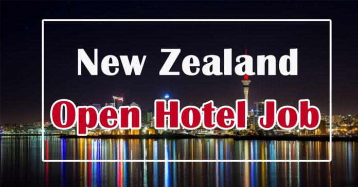 Room Attendant Job in New Zealand